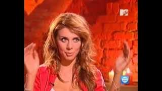 """Анна Седокова, съёмки клипа """"Привыкаю"""", MTV News Block"""