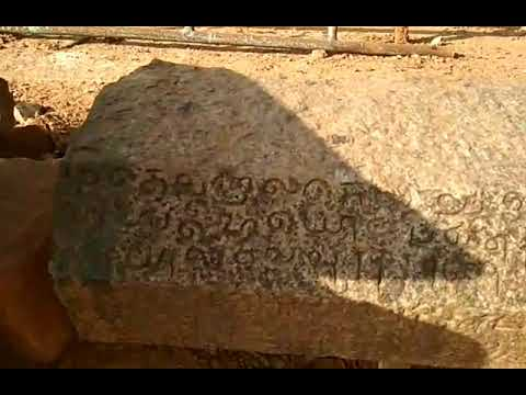 "DISCOVERY OF ANCIENT TAMIL 2500 YEARS OLD LETTERS  IN CHENGALPATU PULIPAKKAM""HILLS."