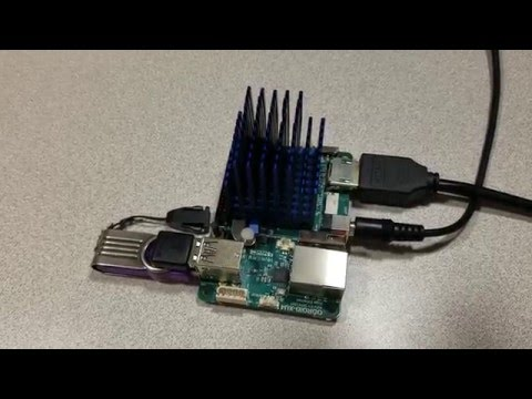 ODROID XU4 - CloudShell SmokyBlue (mounting) by femtronic com