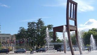 Отдых в Швейцарии. Международный квартал в Женеве/ Holidays in Switzerland. International Quarter