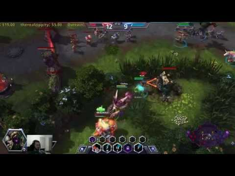 Heroes of the Storm - Hero League AMAZING Comeback