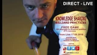 Xavier Gretillat - Full HD - Free game - 100 attempts to america position (81% success) - 2016