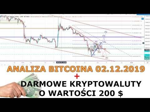 Analiza Bitcoina + Darmowe 200 $ W Krypto !!!