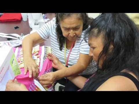 Jingle Dress Making