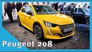Nuevo Peugeot 208 y e208 | Ya lo queremos ver en México | #GIMS2019