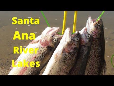 Santa Ana River Lakes Fishing -Trout Fishing
