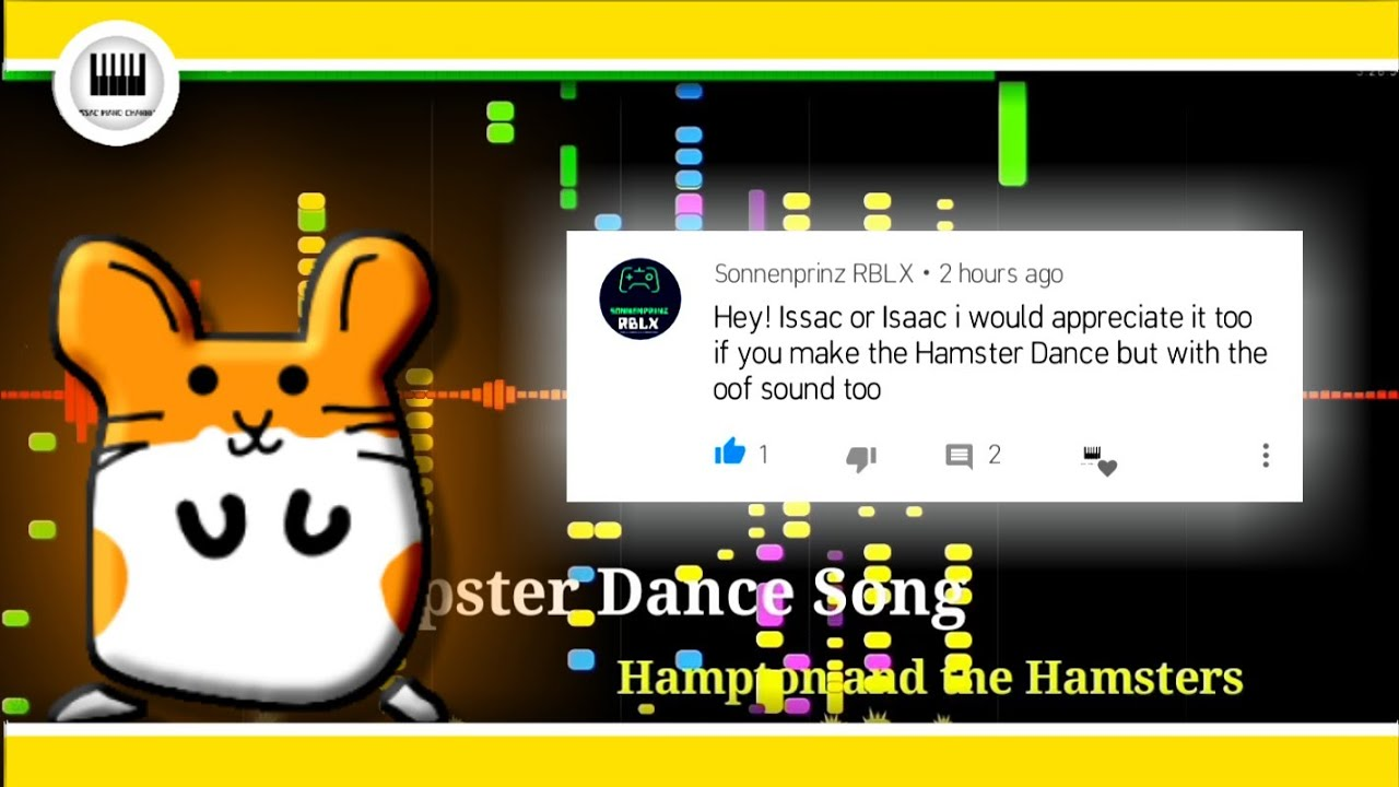 The Hamster Dance Song Roblox Death Sound Youtube
