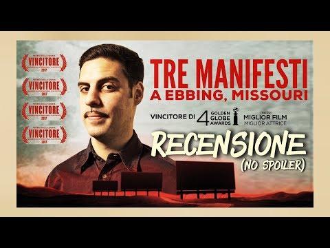 Tre manifesti a Ebbing, Missouri  RECENSIONE no spoiler