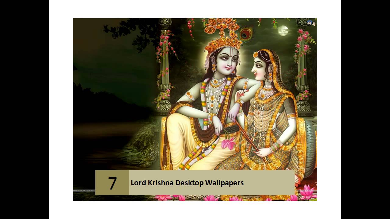 Lord Krishna Hd Wallpapers For Desktop Lord Krishna Hd Wallpapers Youtube