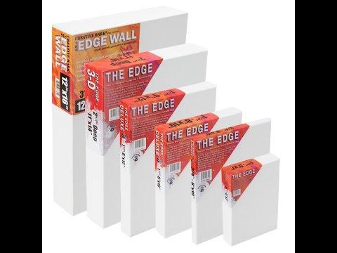 The Edge All Media Cotton Canvas