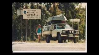 Around Australia by 4WD in 1987