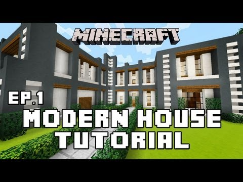 minecraft-tutorial:-how-to-build-a-modern-house-ep1-(layout-and-design)