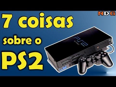 7 coisas sobre o Playstation 2 PS2 Curiosidades Nostalgicas