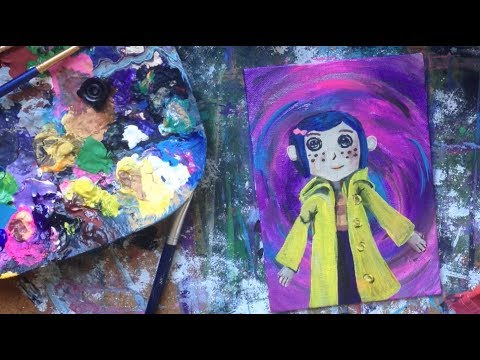 Speed Painting: Coraline's Doll