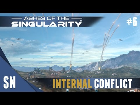 Ashes of the Singularity - Campaign Gameplay #6: Internal Conflict!