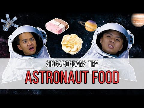 Singaporeans Try: Freeze-Dried 'Astronaut' Food