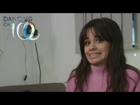 Camila Cabello plays Don't Slip Up with Jordan Banjo | Dancing On Ice 2018
