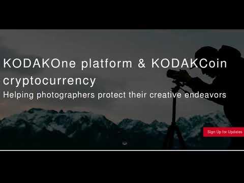 Kodak is launching  KODAKOne and KODAKCoin to manage photography rights using Blockchain
