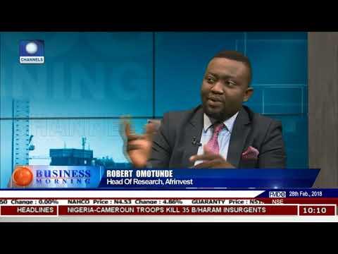 Examining Nigeria's Post-Recession GDP Pt 2 | Business Morning |