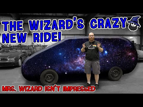 The CAR WIZARD's new ride! Mrs. Wizard is NOT impressed! What was he thinking?!?