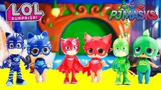 D.I.Y LOL SURPRISE Dolls To PJ MASKS Halloween Costumes Trouble Maker, Cherry, Brrr B.B.