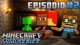 El Pozo de Mina Abandonado   Minecraft Mini Series: El Reto De las Islas Tenebrosas   Episodio 2