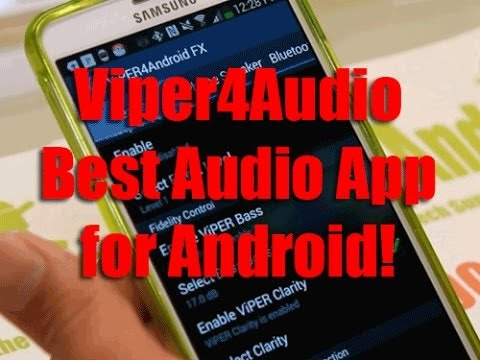 Viper4Android App for Rooted Android! [Best Audio App]