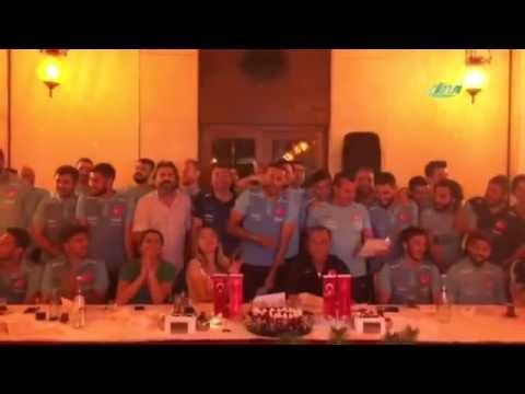 Milli Takım'a 'Bağdat' Jesti