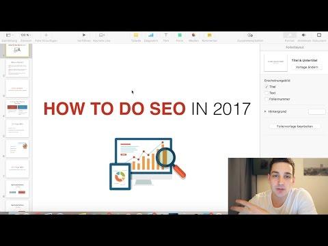 How To Do SEO For Website - SEO Tutorial 2017