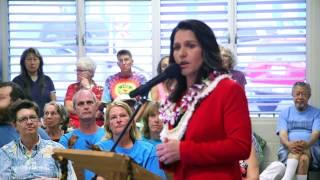 Congresswoman Tulsi Gabbard's Town Hall Meeting - Kona, Hawaii - April 11, 2017 (Full  Coverage)
