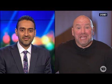 Australian TV Host Attacks the UFC