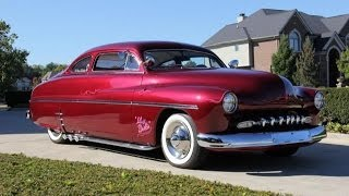1950 Mercury Lead Sled Test Drive Classic Muscle Car for Sale in MI Vanguard Motor Sales