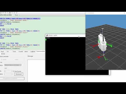 HIWIN Scara Robot Tutorial 5 - Ethernet Command