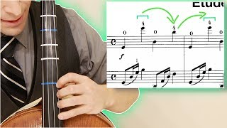 How to Play 4TH position on CELLO | Level Up Skills