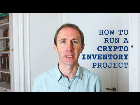 How to run a Cryptography Inventory Project