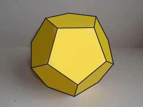 Превращение додекаэдра в усечённый додекаэдр, conversion of Truncated dodecahedron