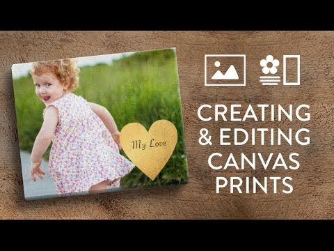 Creating A Canvas Print In Snapfish