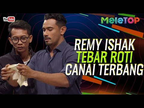 Jarang dapat tengok Remy Ishak tebar roti canai sampai terbang  MeleTOP  Nabil & Elfira Loy
