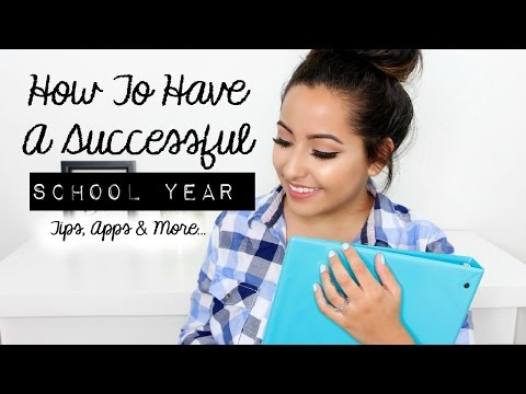 How to Have a Successful School Year 2014 - Tips For School - 동영상