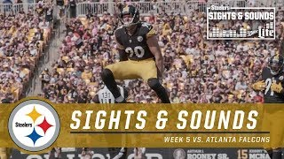 Sights & Sounds from Week 5 win vs. Falcons | Pittsburgh Steelers