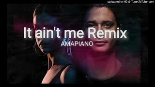 Dj Abux X Soulking - It Ain't Me Amapiano ft. Innocent