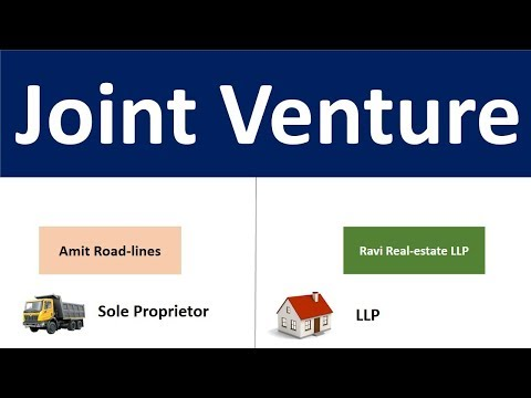 What is Joint Venture | How it is different from Partnership | Joint Venture Basic