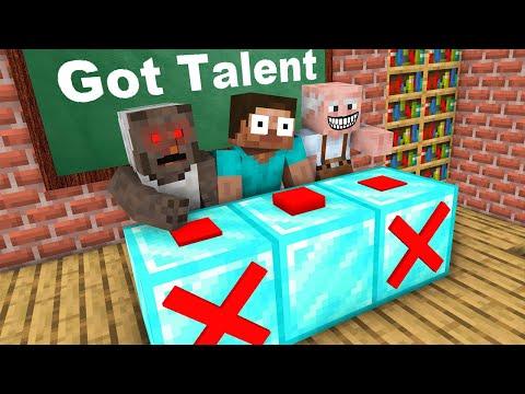 Monster School : HEROBRINE GOT TALENT CHALLENGE NEW EPISODE - Minecraft Animation