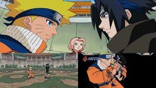 Naruto Gekitou Ninja Taisen! 4 Walkthrough Part 7 - Naruto vs Sasuke 1080p 60 FPS