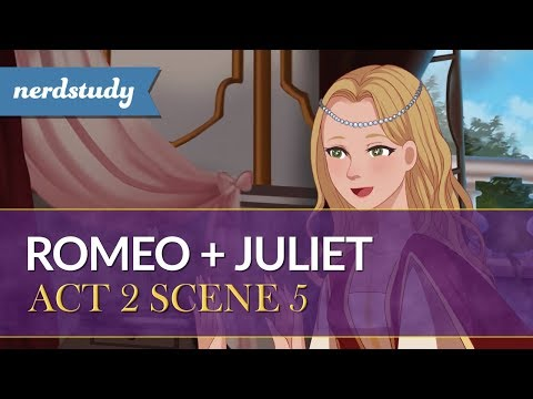 Romeo and Juliet Summary (Act 2 Scene 5) - Nerdstudy