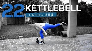 22 Kettlebell Exercises To Do At Home or the Gym  I   68 Fitness