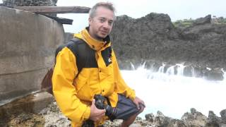 Extreme Seascape Photography With Typhoon Waves in Okinawa