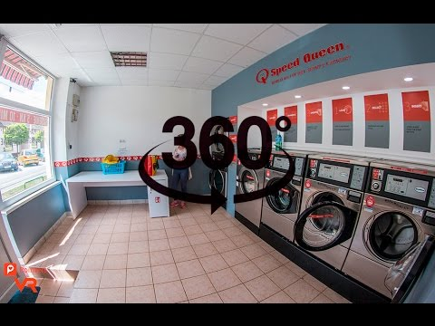 Self-service Laundry Q-Laundry Vešos — Osijek | 360º VR | Pointers Travel