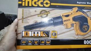 Ingco Blower + Vacuum 800w unboxing
