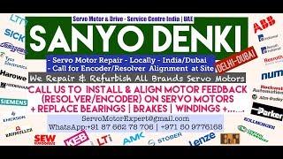 Sanyo Denki Dubai  Heidenhain Sick Stegmann Encoder Memory Align Resolver Adjust -Repair UAE Saudi